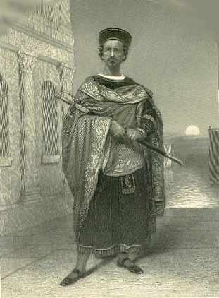 Othello, M'Kean Buchanan as Othello, 1870
