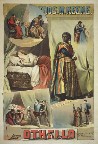 Othello Poster: Thomas Keene (1840-1898) as Othello