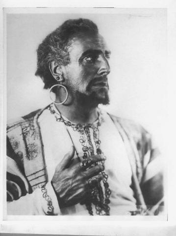Othello, Walter Hampden as Othello, 20th Century