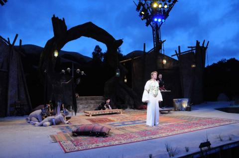 Pericles (Christopher Kelly) at the Bruns Theatre: California Shakespeare Theatre, 2008.