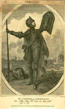 Pericles, Thomas Abthorpe Cooper as Pericles, 1796