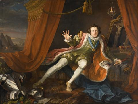 Richard III, David Garrick as Richard III, 1745