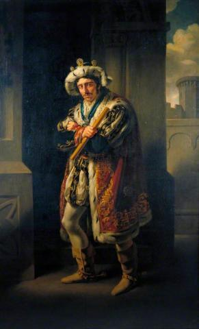 Richard III, Edmund Kean as Richard III, 1814