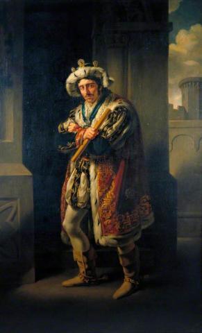 Richard III, Edmund Kean as Richard III, 1814
