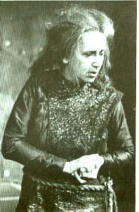 Richard III, Peggy Ashcroft as Queen Margaret, Royal Shakespeare Company, 1963