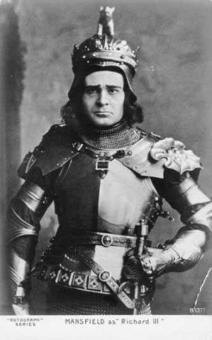Richard III, Richard Mansfield as King Richard III, 1889