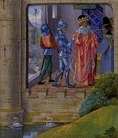 Richard II's arrest by the Earl of Northumberland