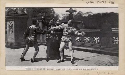 Romeo and Juliet, Acted for Kinetescope, 1908