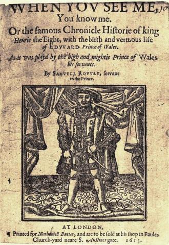 Samuel Rowley's Henry VIII