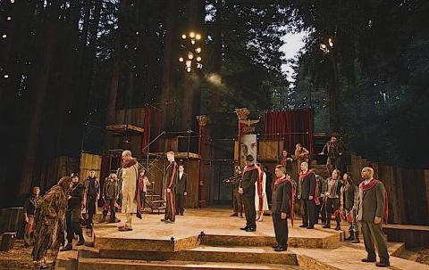 Shakespeare Santa Cruz, 2009: Julius Caesar in the open air, I.i.12.