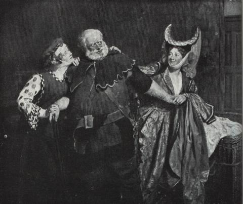 The Merry Wives of Windsor, Haymarket Theatre, 1890