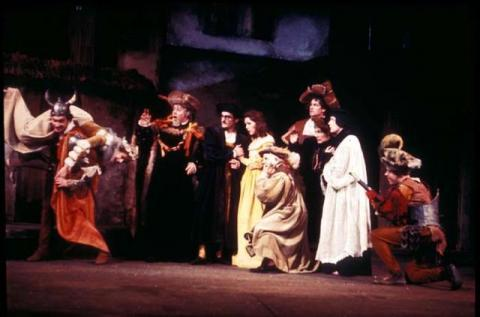 The Taming of the Shrew, Royal Shakespeare Company, 1962