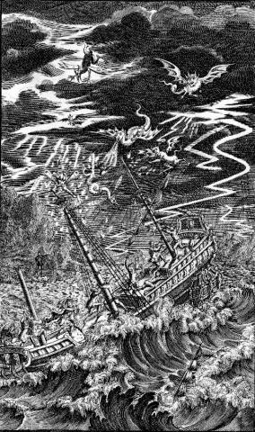The Tempest: Frontispiece to Nicholas Rowe's Edition