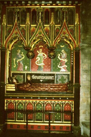 The Tomb of Gower in Southwark Cathedral