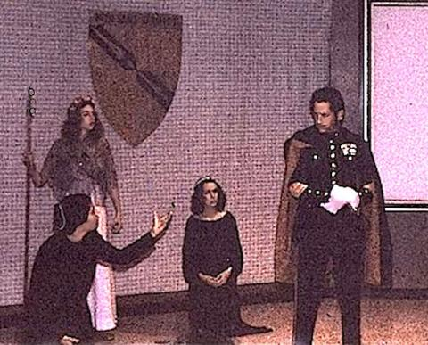 The Two Noble Kinsmen, Berkeley Shakespeare Program, 1978 (Studio)