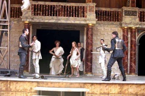 The Two Noble Kinsmen, Shakespeare's Globe, 2000