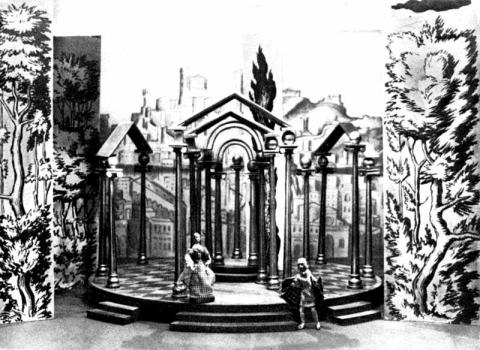 Twelfth Night, Set Design by Vladimir Favorsky, 1933