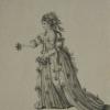Hamlet, Mrs. Jane Lessingham as Ophelia, Covent Garden Theatre, 1772