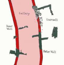 Tentative Globe Stairwell Location
