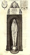 John Donne: The Monument in St. Paul's Cathedral, London