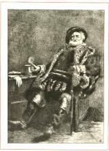 Charles Fisher as Falstaff in Merry Wives of Windsor (1872, revived 1884).