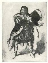 Junius Brutus Booth (1796-1852) as Richard III