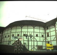 The Restored Globe Theatre's Exterior