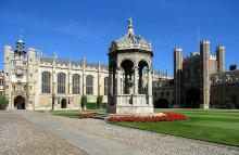 Trinity College Great Court, Cambridge University