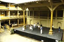 Stage Viewed from Middle Gallery