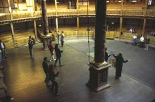 The View of Dance Rehearsal from the Gallery