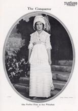Miss Pauline Chase as Ann Whitfield in Shaw's Man and Superman: Criterion Theatre, London, 1911 (191 performances)