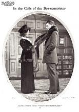 Pauline Chase as Anne, Robert Loraine as Tanner, in Man and Superman (1911)