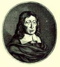 John Milton aged 62 (1670)