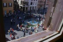 View From Keats' Room At The Spanish Steps, Rome