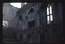 "The Hall at Ludlow Castle Where ""Comus"" was First Staged"