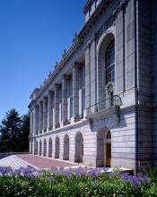 Wheeler Hall: Façcade, Galleries, and Steps