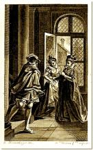 Maguerite de Navarre's Heptameron: Illustration of the Fifty-eighth Tale