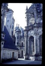 The Cabins On The Roof of Chambord Show Concern for the Ladies of the Court, Who Could Watch the Hunting in Comfort