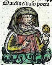 Publius Ovidius Naso in the Nuremberg Chronicle