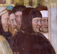 Portrait of Francesco Petrarch, circa 1376, Padua