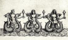 Three Sirens From The Ballet Comique de la Reine