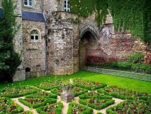 The Knot-Garden of Pierre de Ronsard at Le Mans