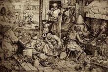Pieter Bruegel the Elder - The Alchemist