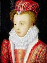 La Reine Margot (initially Princess Marguerite de Valois, Then Queen Marguerite de Navarre), 1572