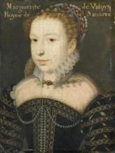 Portrait of Marguerite de Valois