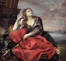 "Andrea Sacchi (1599 - 1661): ""The Death of Queen Dido"" (early 17th century)"