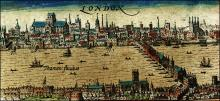 John Speed's View of London, 1611