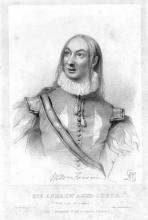 Twelfth Night: William Farren (1786-1861) as Sir Andrew Aguecheek