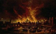 The Great Fire of London (1666)