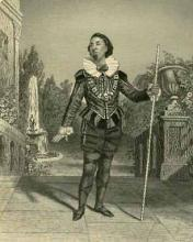 Twelfth Night: William Davidge (1814-88) as Malvolio